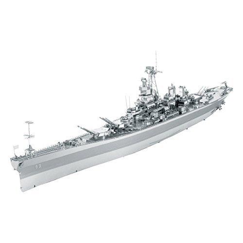Faszination - Metallerde - ICONX: USS Missouri (BB-63) 3D Metallbausatz