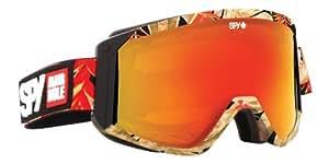 Spy Raider Ski Goggles - Bronze/Red, Large