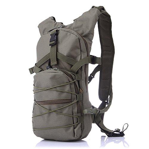 Wandern Rucksäcke, Taschen, Wander-Taschen, Outdoor-Taschen, wasserdicht Rucksack Outdoor Sports bag Rucksack Rucksack Kapazität null Belastung, Funktion Green