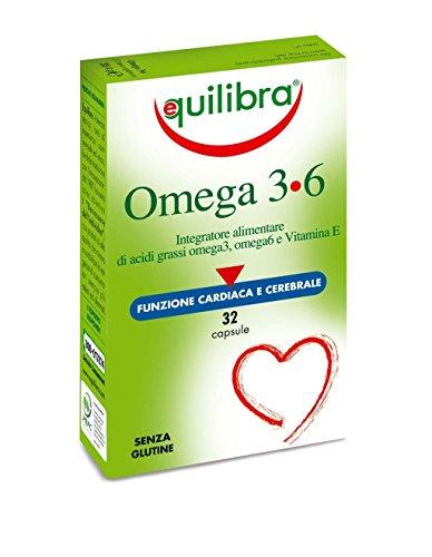 Equilibra - Omega 3-6, 32 Perle