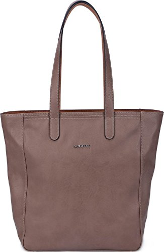 David Jones, Borsa a spalla donna Multicolore Cammello large