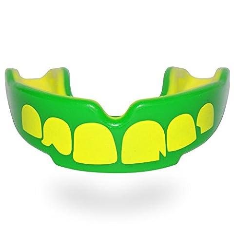 SAFEJAWZ 'Ogre' Teeth All Sports Mouthguard Gum Shield - Senior