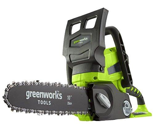 Greenworks Motosierra inalámbrica de 25cm y 24V Li-Ion (sin batería ni cargador) - 2000007