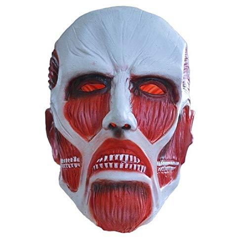 2015-Die Simulation Umweltfreundlich Latex Attack on Titan Maske Halloween Party Darstellende Requisiten Anime Themen Maske