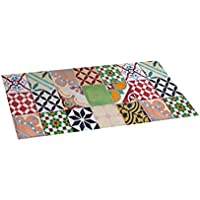 Stor Planet Croma - Alfombra Vinílica Estampada Mosaico Color 50X110