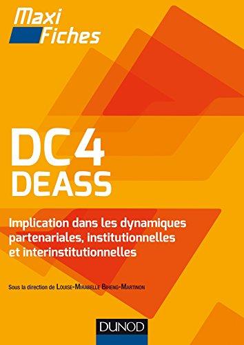 DC4 DEASS Implication dans les dynamiques partenariales, institutionnelles et interinstitutionnelles par Louise Mirabelle Biheng Martinon