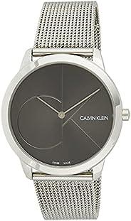 Calvin Klein Men's Quartz Watch, Analog Display and Stainless Steel Strap K3M2