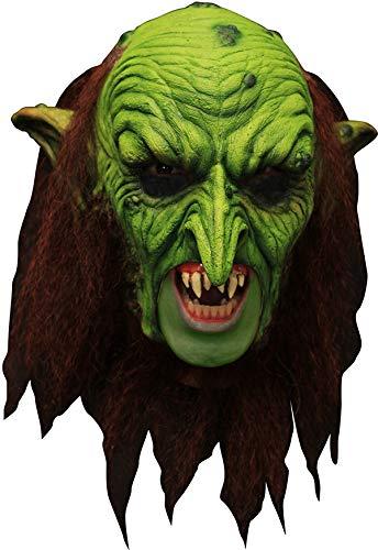 Deluxe Warlock Goblin Maske Latex