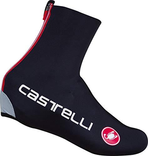 Copriscarpa ciclismo castelli 2018 diluvio c nero (s/m , nero)