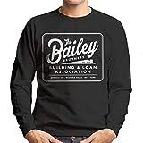Cloud City 7 Its A Wonderful Life Baileys Brothers Building And Loans Association Men's Sweatshirt