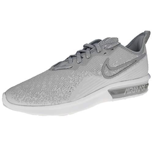 new styles 67407 7b439 Nike Air MAX Sequent 4, Zapatillas de Deporte para Hombre, Blanco White Wolf