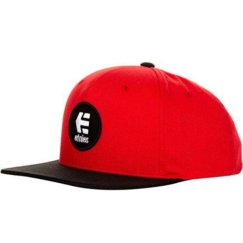 Etnies Herren Kappe Baseball Cap grau Einheitsgröße Einheitsgröße rot