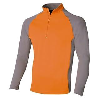 Keela ADS Zip Top Long Sleeve Orange/Grey M