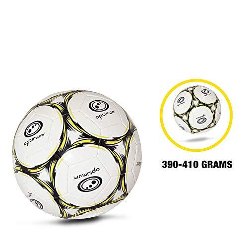 OPTIMUM Classico Balón fútbol Negro/Amarillo