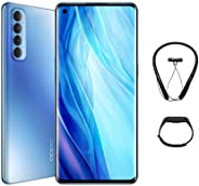 OPPO Reno4 Pro Smartphone, 8GB RAM, 256GB (Galactic Blue) + Gift Box contains Bluetooth Neckband and Fitness b