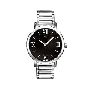 Tissot Damen-Armbanduhr Happy Chic Round Edelstahl T0342091105300