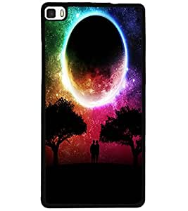 ColourCraft Night Vision Design Back Case Cover for HUAWEI P8