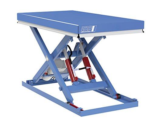 Hubtisch, Pfaff-silberblau, Tragkraft 500 kg, Hub 800 mm (1250 x 800 mm)