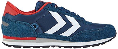 hummel REFLEX LO Unisex-Erwachsene Sneakers Blau (Majolica Blue 8566)