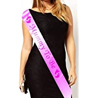 Mummy To Be Baby Shower Party Sash (Pink)