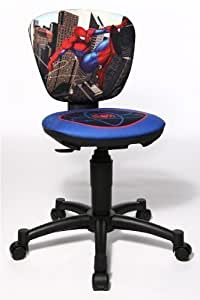 Topstar Chaise de bureau pour enfant Motif Spiderman