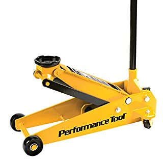 Performance Tool W1617 3 Ton Floor Jack with 15-Inch Lift Range
