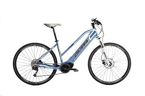 "Crussis E-Bike e-Cross Lady 9.4 28\"" Rahmen 18\"" 36V 14 Ah 504Wh 80Nm Crossbike (Rahmen 18\"")"