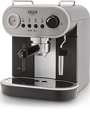 Gaggia Carezza Deluxe Espresso coffee Machine - RI8525/08