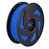 1,75 mm PLA 3D Drucker Filament Kunststoff Gummi Verbrauchsmaterialien 3D Druck liefert glatt & 100% frei von Blasen, blau