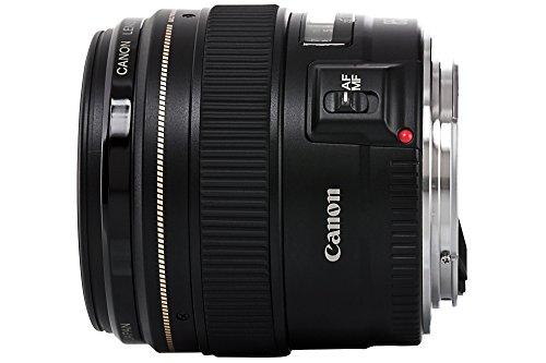 Bild 2: Canon Objektiv EF 85mm F1.8 USM Portraitobjektiv Lens für EOS (Festbrennweite, 58mm Filtergewinde, Autofokus) schwarz