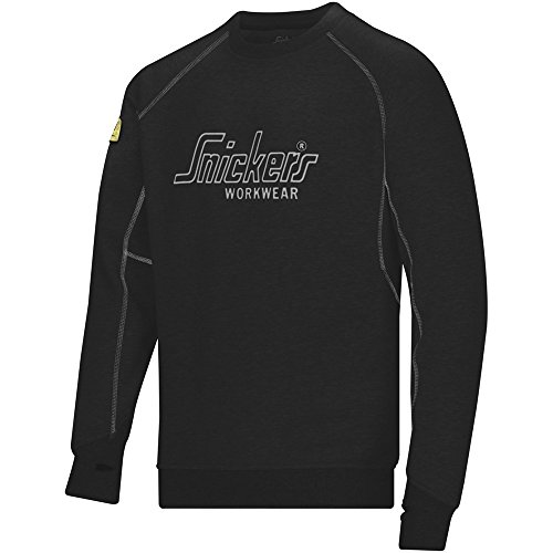 SNICKERS WORKWEAR 2820 - SUDADERA  COLOR NEGRO  TALLA 5