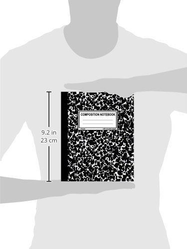 Zoom IMG-2 composition notebook 100 unruled pages