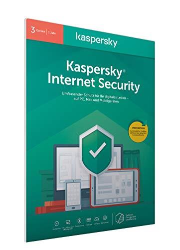 Kaspersky Internet Security 2020 Standard | 3 Geräte | 1 Jahr | Windows/Mac/Android | Aktivierungscode in frustfreier Verpackung