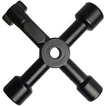 Hrph Universal dominante cruzado Triangle Keys Llave por un tren eléctrico Ascensor Gabinete de la válvula de la aleación del triángulo / Plaza