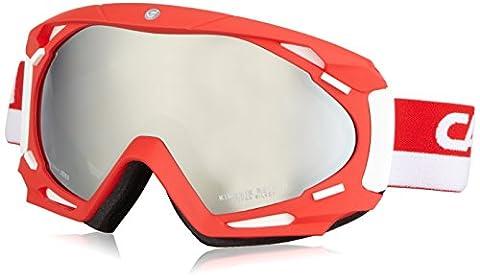 Carrera Herren Skibrille Kimerik Reload, Rot/Matt/Silber, M003853AW992H