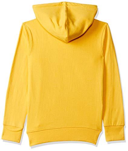 ESNINO Boys' Cotton Sweat Shirt - Yellow (5-6 Years, Yellow)