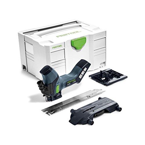 Festool Dämmstoffsäge ISC 240 Li EB-Basic Herstellernr. 574821, Schwarz/Grün