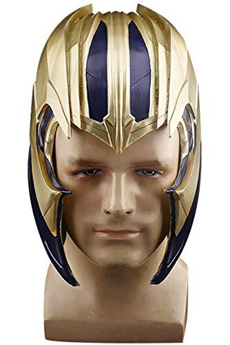 : Endgame Ankleiden Thanos Helmet Maske Halloween Karneval Fasching Cosplay Requisiten Cosplay ()