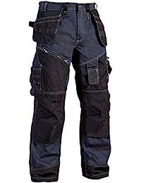 Blakläder 150011408999C48 Pantalon d´Artisan Taille C48 Bleu Marine/Noir