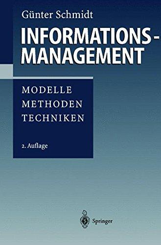 "Informationsmanagement: ""Modelle, Methoden, Techniken"""