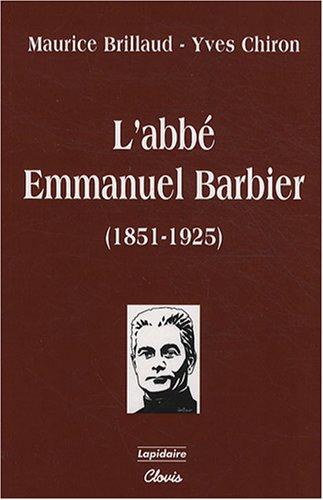L'abb Emmanuel Barbier (1851-1925)