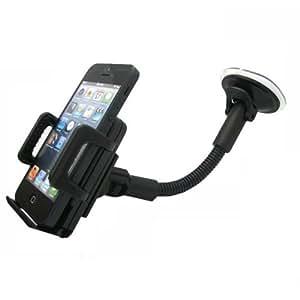 support t l phone voiture auto universel windshield avec fixation pare brise iphone 4 4s 5 5s. Black Bedroom Furniture Sets. Home Design Ideas