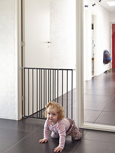 Baby Dan Multidan Metall Tür und Treppenschutzgitter, 62.5 – 106.8 cm, schwarz - 2
