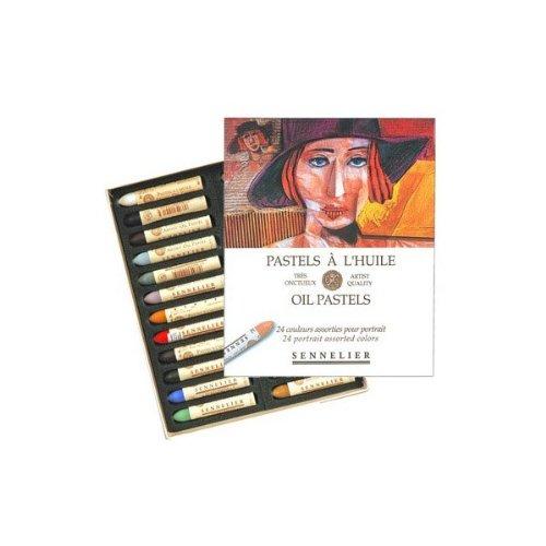 Sennelier Artists Oil Pastels - Set of 24 x Portrait Colours