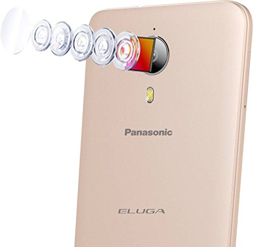 Panasonic Eluga I3 Mega (Gold, 16GB)