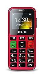 Emporia TelMe C150 Großtastenhandy (Notruf-Funktion, Bluetooth 3.0, HSP, FM Radio) Rot
