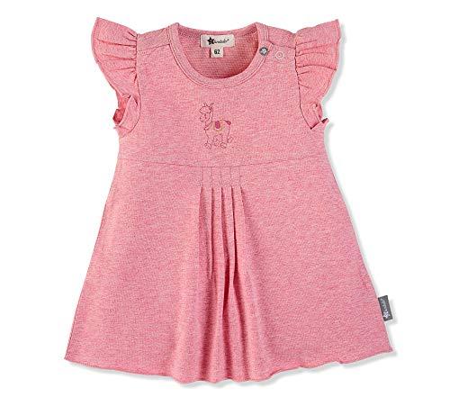 Sterntaler Tunika-Kleid für Mädchen, Niedliches Lama Lotte-Motiv, Alter: 12-18 Monate, Größe: 86, Rosa