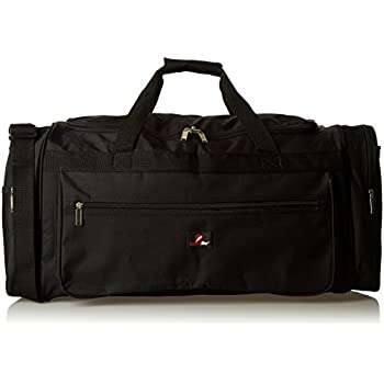 Roamlite Travel Duffle Holdalls - Extra Large X-L Size - Weekend or Very Big  Overnight Bag - Gym Sports Kit - 66 cm x 31 x 31-65 Litre RL58K (Black) 4d3fe05e4ab0b