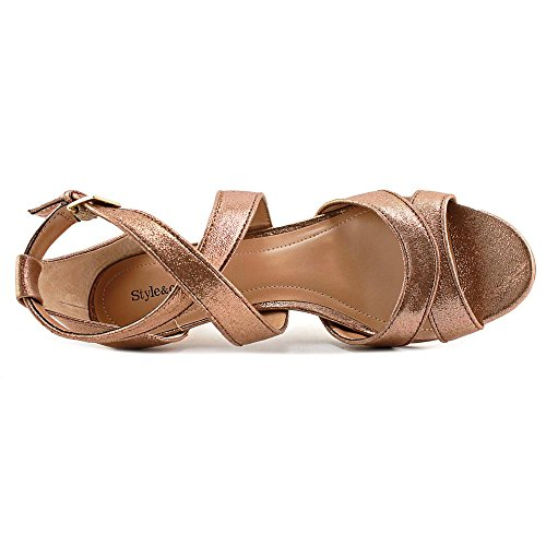 Style & Co Pravati Synthetik Sandale Copper