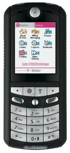 T-mobile, Motorola (Motorola E398 Schwarz-Silber T-Mobile)
